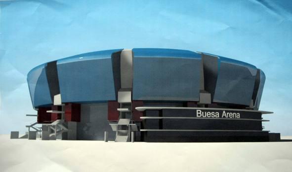 Render del nuevo Buesa Arena